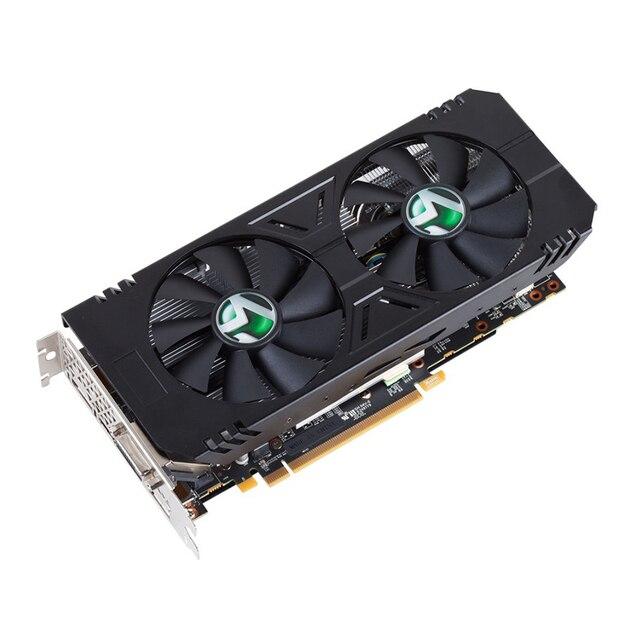 GPU Card MAXSUN RX 570 4G graphics cards 7000MHz GDDR5 256bits HDMI+DVI+DP*3 PCI-X16 express3 2048units 14nm 150W 8pin for ETH 2