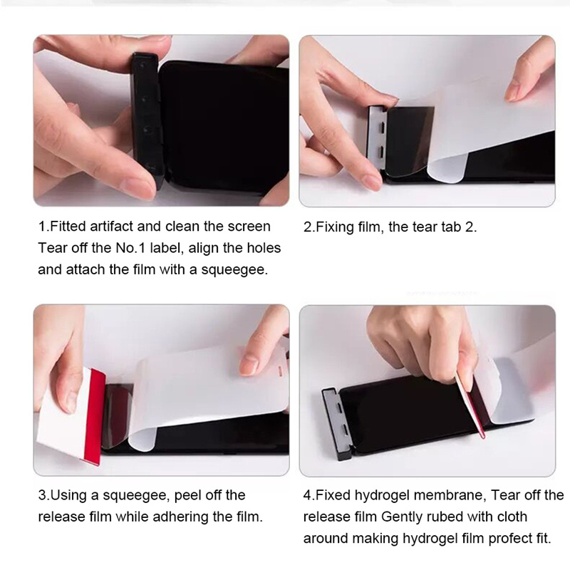 3D pełna pokrywa miękkie hydrożelowe Film do Samsung Galaxy S10 S8 S9 A8 Plus S7 krawędzi uwaga 9 8 A9 s10 Plus Lite 5G folia ochronna na ekran 28