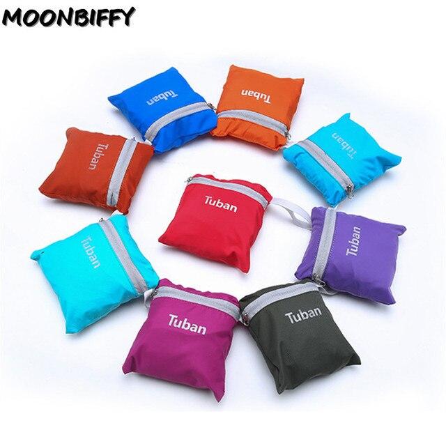 TUBAN Lightweight Nylon Foldable Backpack Waterproof Backpack Folding Bag Portable Men Women Backpack for Travel 5