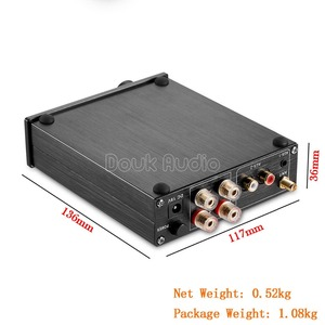 Image 5 - Nobsound Bluetooth 4.0 HiFi ואקום 6J1 צינור דיגיטלי מגבר Class D HiFi מגבר סטריאו משולב בית אודיו