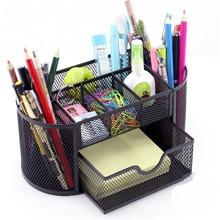 Creative Fashion Penholder Pen Insert Desktop Office Supplies Receiving Box