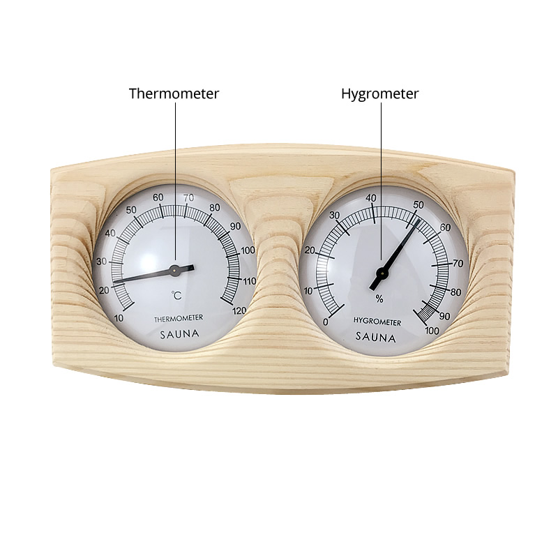 2 In 1 Sauna Thermometer Hygrometer2 In 1 Sauna Thermometer Hygrometer