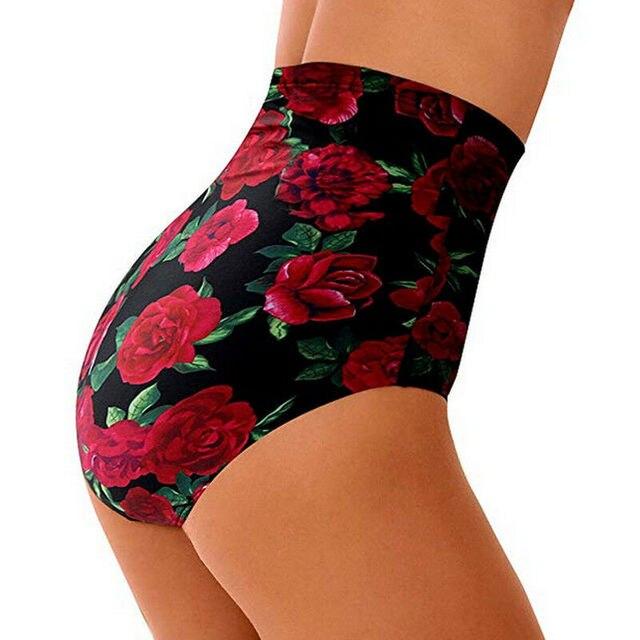High Waist Plus Size Bikini Bottoms 6