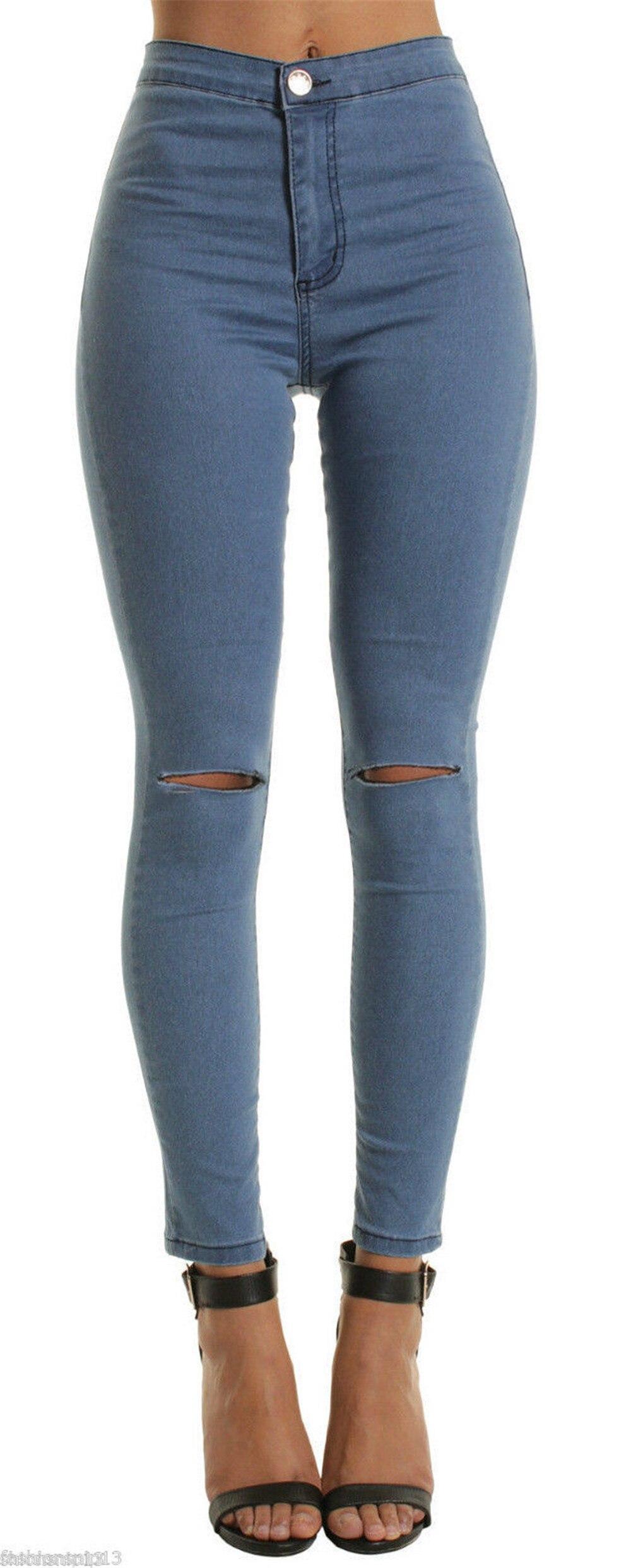 Female Ladies Hot Girls Slim Jeans Fashion