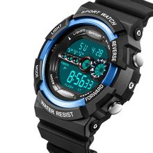 2016 Sanda New Males Ladies Sports activities Watches LED Digital Waterproof Out of doors Scholar Wristwatches Wrist Watch Reward No.320 OP001