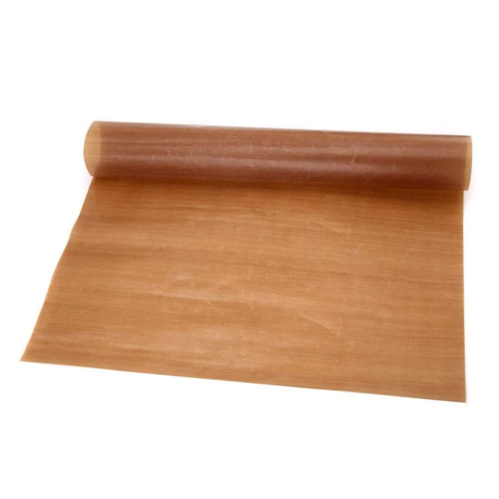 Nuevo reutilizable no palo de papel para hornear alta temperatura resistente teflón hoja de horno microondas con Grill estera para hornear herramientas