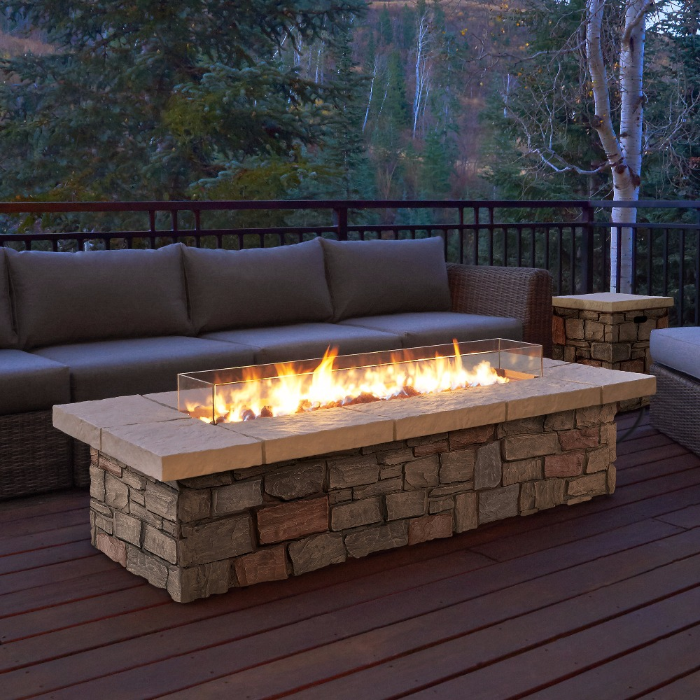 On Sale 60 Inch Chimneas Etanol With Wifi Contact Outdoor Ethanol Fireplace