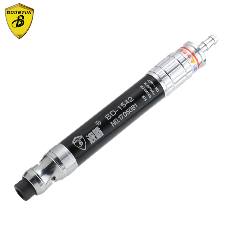 Borntun Mini Pneumatic Air Die Grinder Pneumatic Air Grinders Buffing Polishing Burnishing Lapping High-speed 65000rpm Tools Set ultrasonic pneumatic air reciprocating oscillating file grinder machines filing grinding buffing polishing sanding tools devices