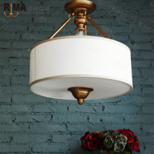 hot sale art deco fabric ceiling lamp&classical ceiling lights&surface mounted light directly from factory