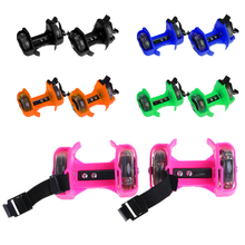 Children Wheel Heel Roller Light Adjustable Skates Kid Falsh Blade Shoe Strap  selling