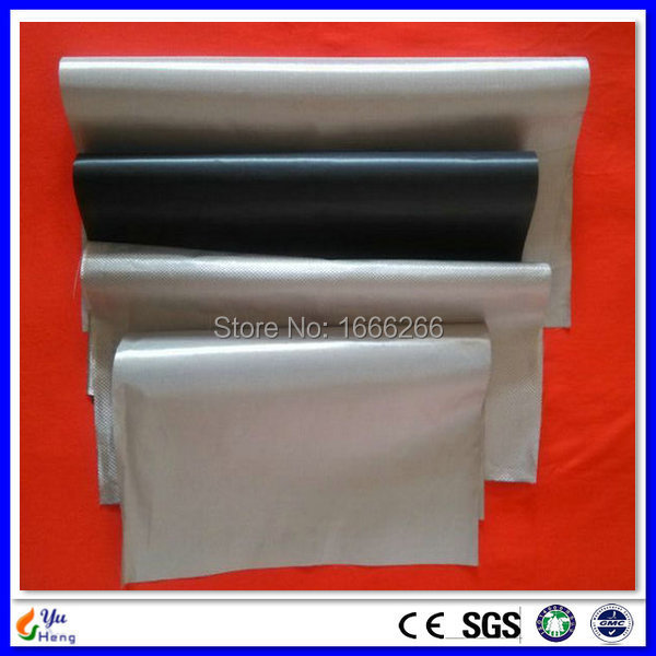 RFID Shielding Fabrics Nickel Copper Radiation Proof Conductive Fabrics Samples 4pcs A4 Size