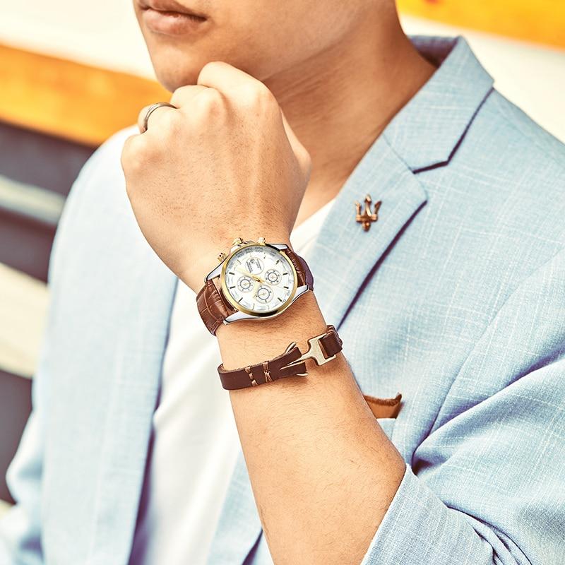 GUANQIN GS19112 watches men luxury brand quartz watch multi-functional men's watch trend sports luminous waterproof calendar 38