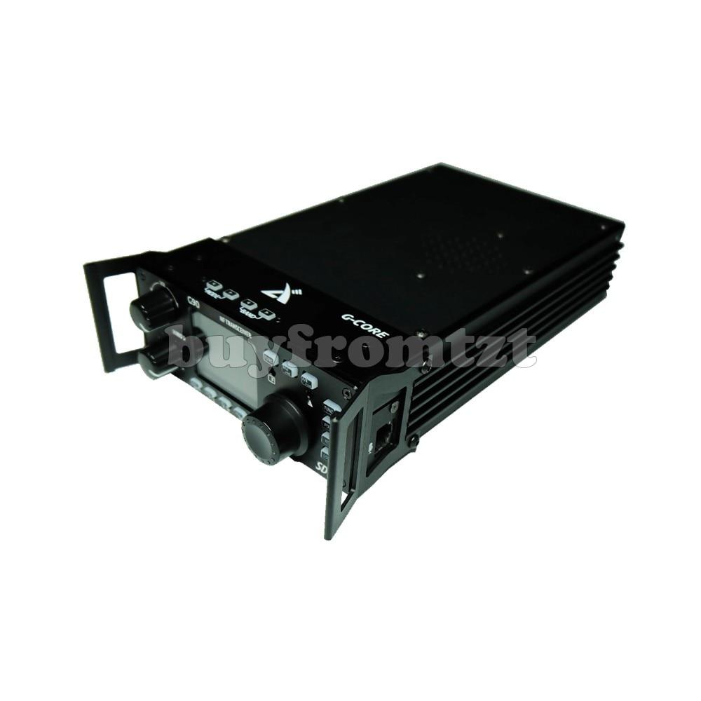 SDR Rádio de Ondas Curtas ao ar livre Portátil Transceptor HF 20 W SSB/CW/AM 0.5-30 MHz w/ sintonizador de Antena embutida XIEGU G90 SE a Saída