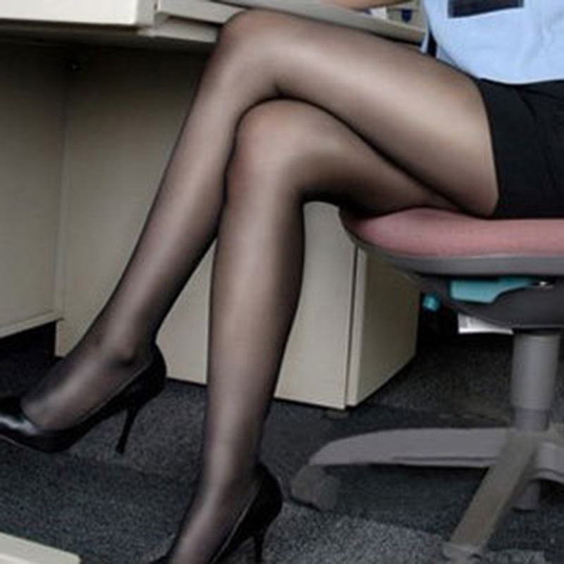 Hot Black Sexy Woman Pattern Jacquard Pantyhose Tights -9410