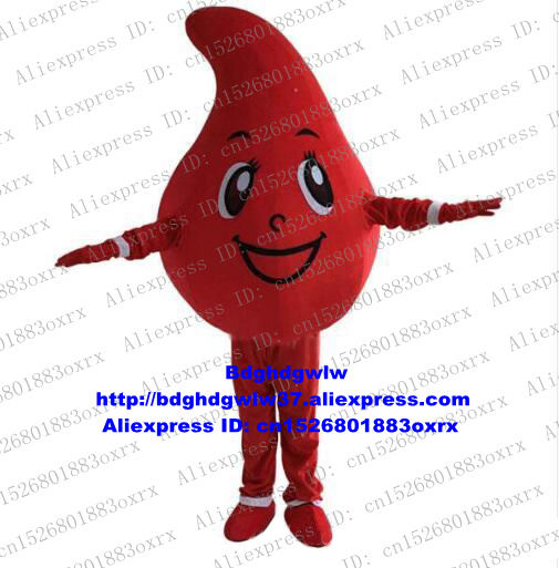 Sporting Blood Drop Sanguis Drop Of Blood Mascot Costume Adult Cartoon Character All Saints Day Brand Name Promotion Zx1333 As Effectively As A Fairy Does