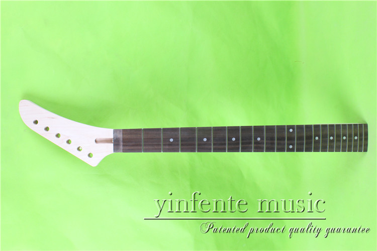 0065#    right  25.5 Electric guitar neck   Bolt on rosewood       fingerboard fine quality  22 fret 0049 24 75 electric guitar neck bolt on rosewood fingerboard fine quality 22 fret