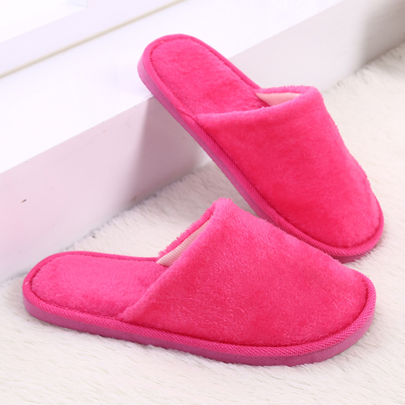 2018 Womens Fur Slippers Winter Shoes Home Slipper Plush Womens Indoor Warm Fluffy Cotton Shoe tolaitoe new winter warm home women slipper cotton shoes plush female floor shoe bow knot fleece indoor shoes woman home slipper