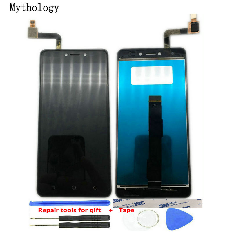 Pour Coolpad Torino S2 E503 Tactile Écran D'affichage Mobile Téléphone Outils De Réparation Noir Or Couleur Tactile Panneau LCD Mythologie