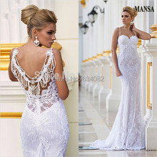 La MaxPa Sexy Lace Mermaid With Jacket 2018 dresses