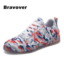 Zapatos de los hombres de Camuflaje camuflaje de fondo Transparente Antideslizante Zapatos Casuales de Los Hombres entrenador Zapatos zapatos hombre zapatos mujer