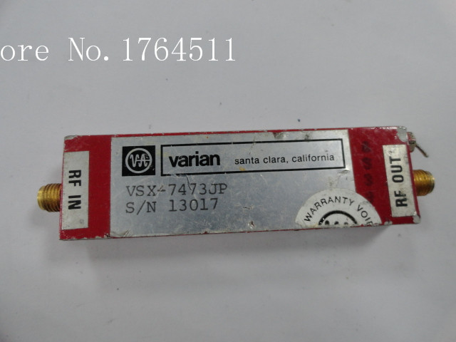 [BELLA] The Supply Of VARIAN VSX-7473JP RF Low Noise Amplifier 15V SMA