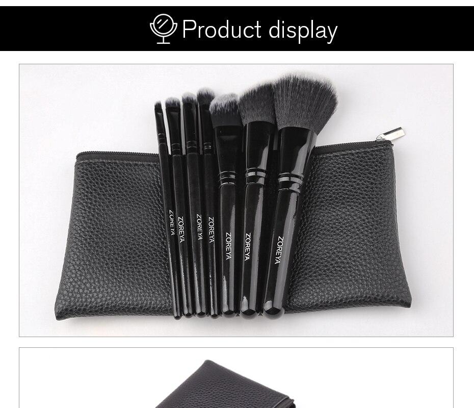maquiagem escovas confortável sintético pó sombra para