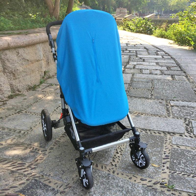 Baby Stroller Sun Shield Cover Pram Pushchair Elastic Mosquito Net Dustproof Baby Carriage Car Covers Newborn Pram Accessories baby stroller pushchair mosquito insect shield net safe infants protection mesh stroller accessories mosquito net trq0085