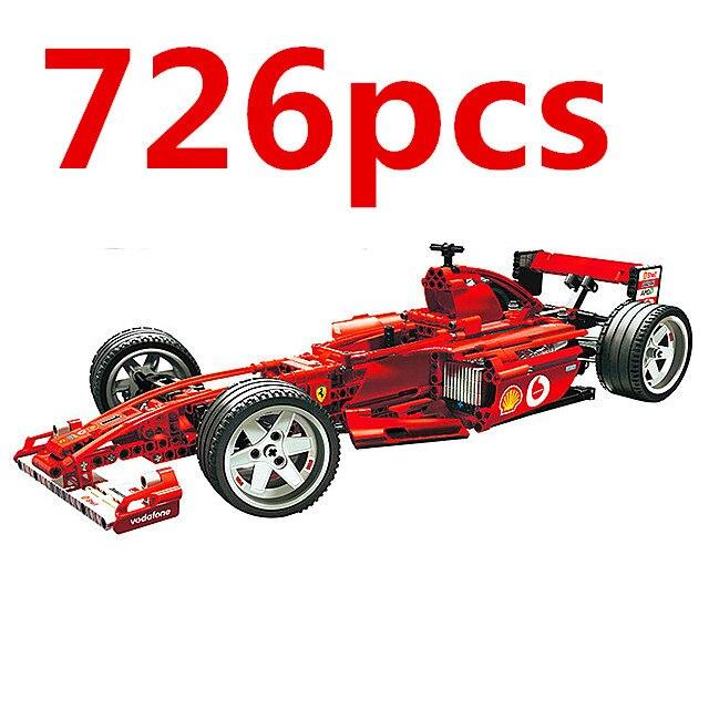 Sports Car Model Blocks 4