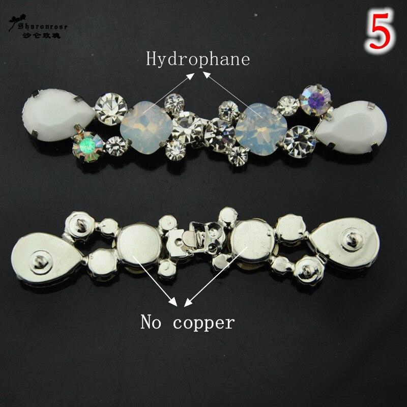 NUEVOS botones de hebillas de diamantes de imitación de metal de - Artes, artesanía y costura - foto 3