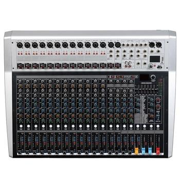 Микшерная консоль, регистратор 48 В, монитор с фантомным питанием, дорожка с эффектом AUX, 16 24 канала, аудиомикшер USB 99, эффекты DSP, LCi