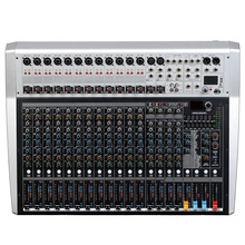 Mixing console recorder 48 V phantom power monitor AUX effect path 16-24 channel audio mixer USB 99 DSP effects LCi