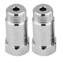 2 шт. 45 мм M181.5 проверьте светильник двигателя адаптер О2 расширитель датчика кислорода прокладка серебро Новое поступление автомобильные аксессуары