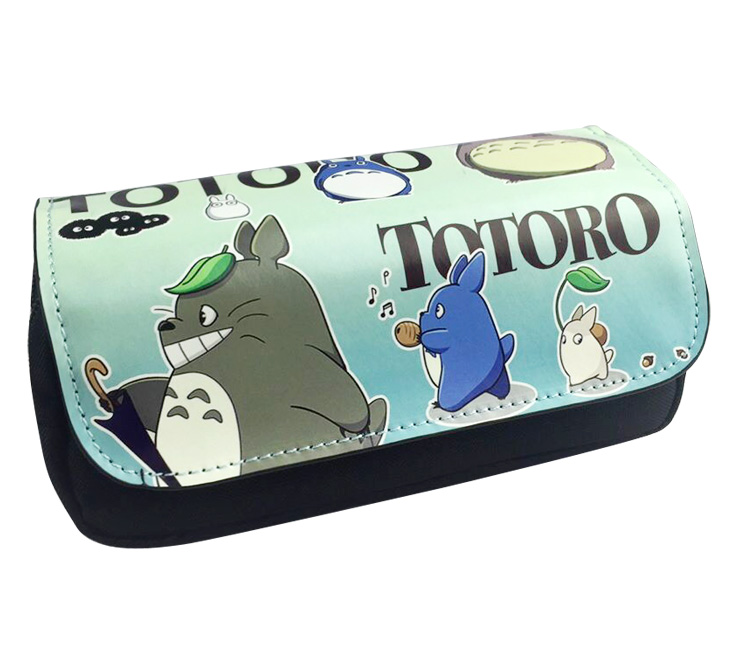 My Neighbor Totoro Boys Girls Cartoon Pencil Case Bag School Pouches Children Pen Bag Kids Purse Wallet
