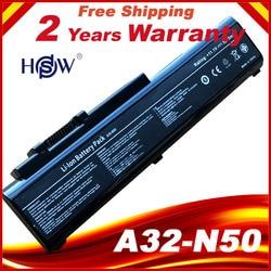 Nowy 6 komórki Laptop bateria do ASUS N50 N50VC N51 N51A N51S N51V  A32 N50 A33 N50 90 NQY1B1000Y darmowa wysyłka w Akumulatory do laptopów od Komputer i biuro na