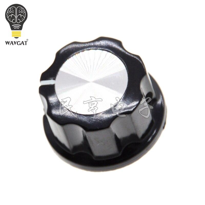 MF-A03 RV24YN20S Potentiometer Knob Cap Inner 6.4mm Rotary Switch Bakelite Knob WH118 WX050 Potentiometer Switch