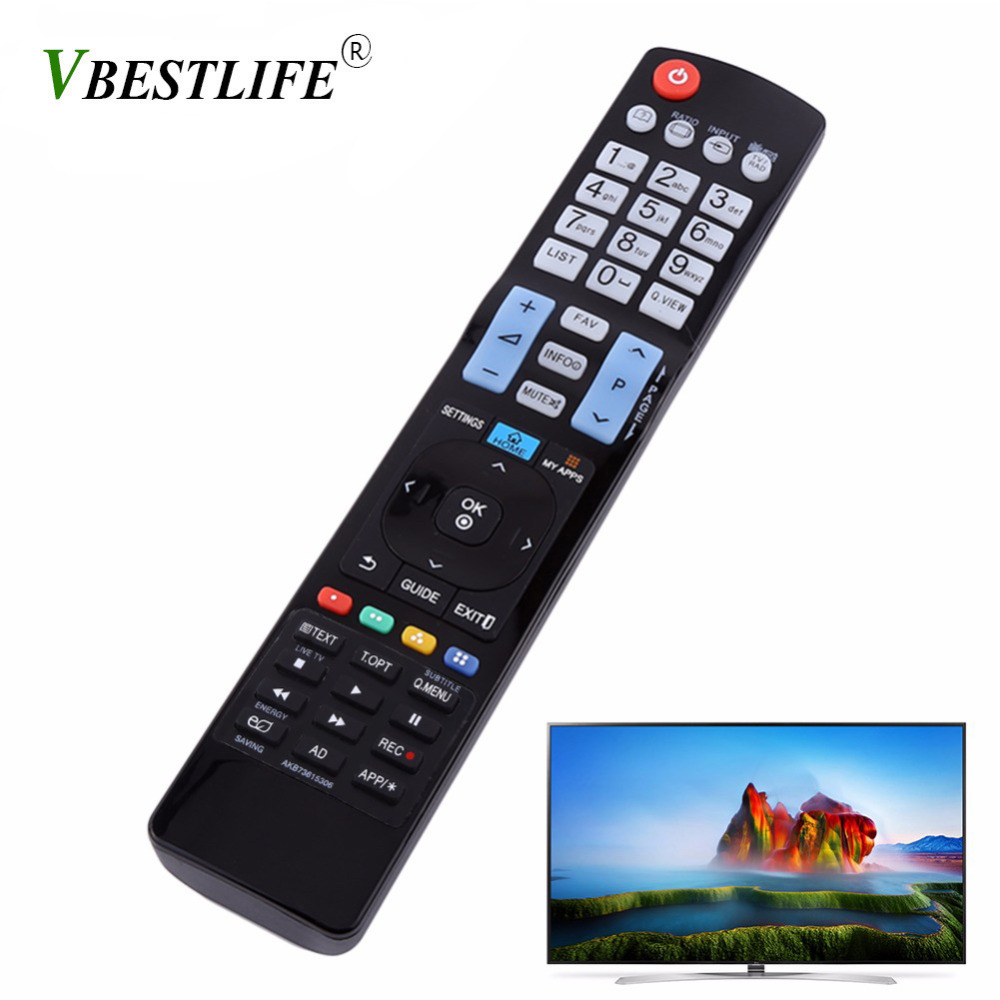 VBESTLIFE Smart Remote Control TV Controller Replacement for LG AKB73615306 HDTV LED TV Wireless Remote Universal Free Shipping universal tv remote keychain