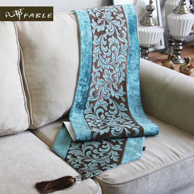 Original Thickening Table Runners Home Decoration European Luxury ChenilleTable Runners