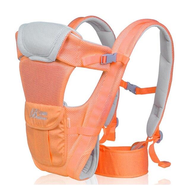 Эргономичный Baby Carrier 0-24 М Дышащий Многофункциональный Фронтальная Удобная Слинг Рюкзак Pouch Обертывание Кенгуру Подтяжки