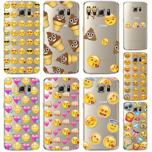 coque samsung s7 edge emoji