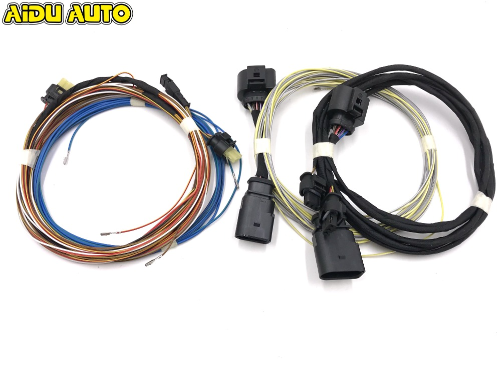 OPS Parking PLA 2 0 Play Plug 8K To 12K Install Harness Cable Wire For Passat