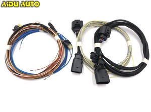 OPS Parking PLA 2,0 Play & вилка 8K до 12K, установка проводов для Passat B7 New CC