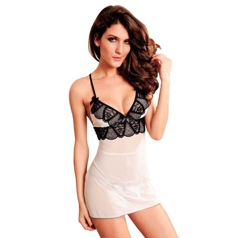 Kvinnors sexiga underkläder Spetsar Nattkläder Babydoll Underkläder Storlek S-6XL