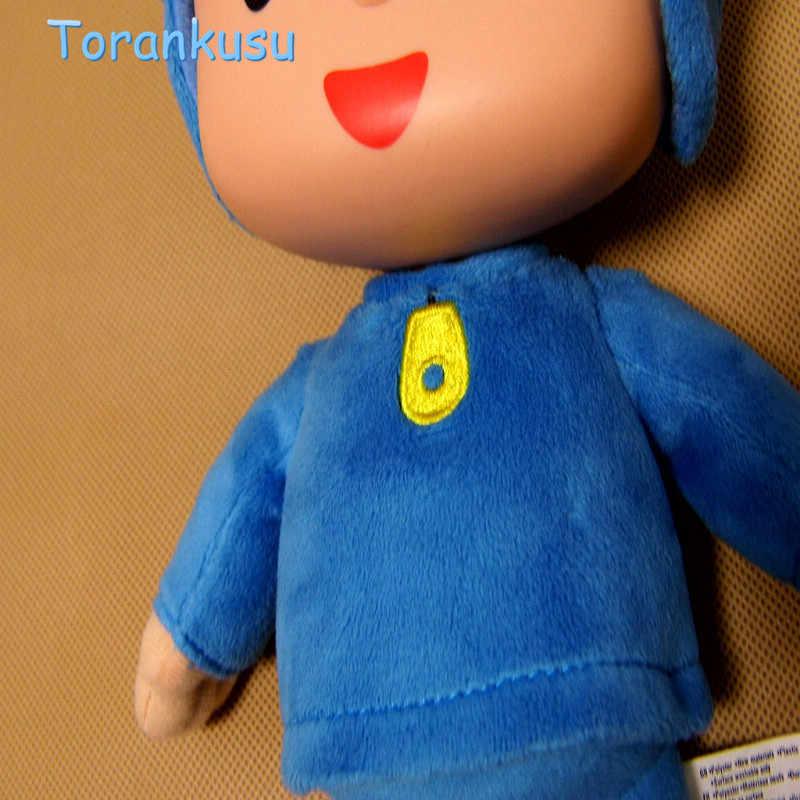 Pocoyo Elly pato Loula Pocoyo Pato Dog Elephant Stuffed Plush Toys Presente Para As Crianças de alta qualidade 4 pçs/lote presente de natal