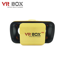 VR BOX 3.0 PRO Virtual Reality 3D Glasses with Yellow Color VR Glasses suit for 4.5-5.5 inch Smartphone