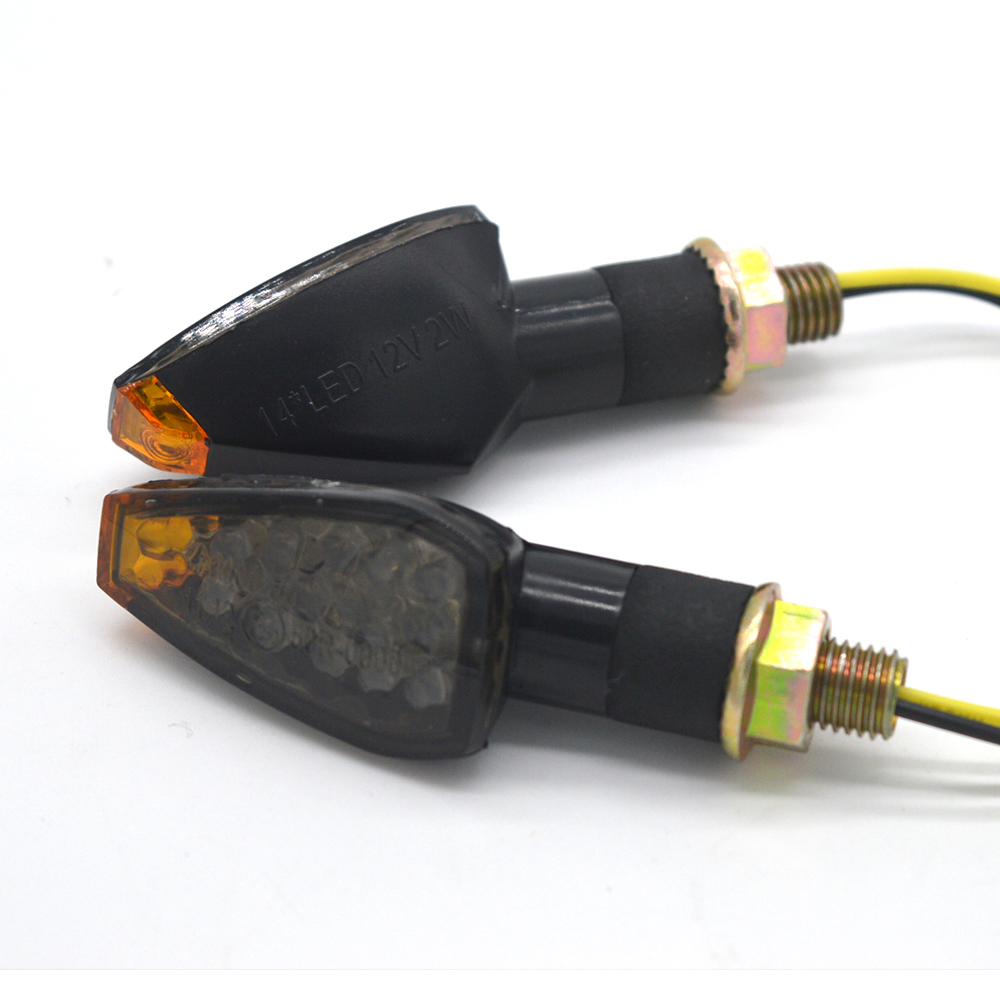 4x Carbon Motorcycle LED Turn Signal Indicator For KTM EXC 525 530 Supermoto