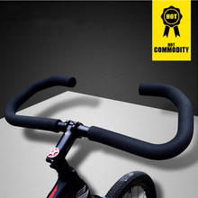Fashion bike handlebar high strength 6061 aluminum alloy T6 heat treatment bicycle handlebar 25.4mm/31.8mm for MTB bicycle(China)