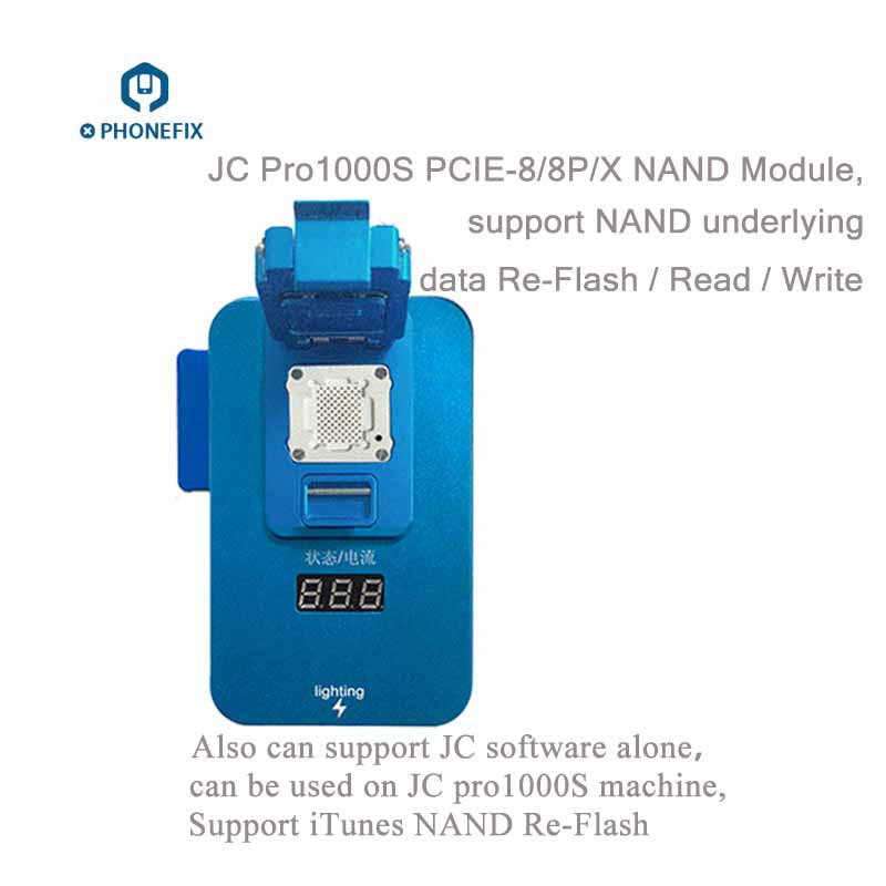 JC Pro1000S Multi-Functional NAND Programmer PCIE NAND Read Write Tool For iPhone 8 8P X 7 7P 6 6S 6SP 5 4 For All iPad