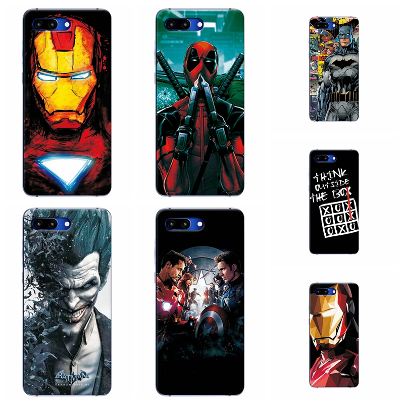 Charming Painted Phone Case Cover For Huawei Honor 10 Marvel Avengers Silicone Cases For Huawei Honor 10 Honor10 5.84 Fundas image