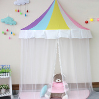 Kids Play House Baby Play Can Move Hanging Wall Colorful Tents Princess New Design Girl Gift Kids Tents D334