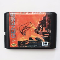 The Lion King - Sega Mega Drive For Genesis